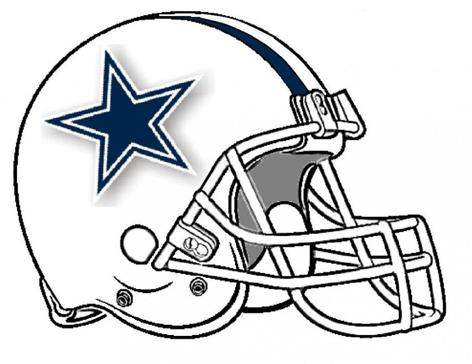Dallas Cowboys Helmet Coloring Pages Coloring Home Dallas Cowboys Logo Coloring Page Printable