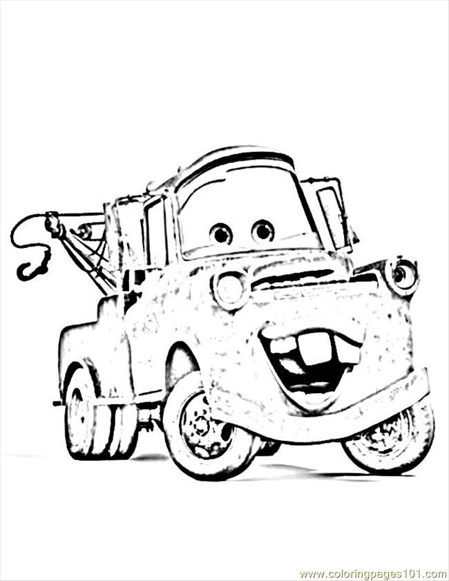 disney cars sheriff coloring pages - photo#19