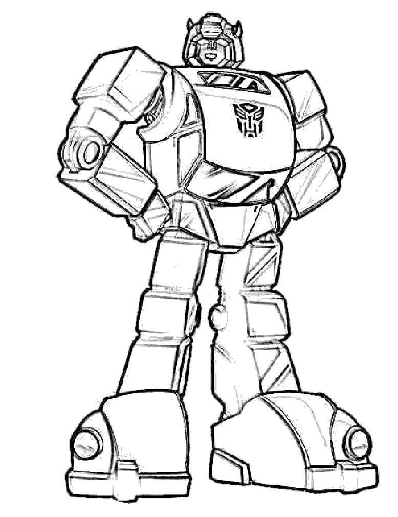 Transformer Coloring Sheet - Coloring Home