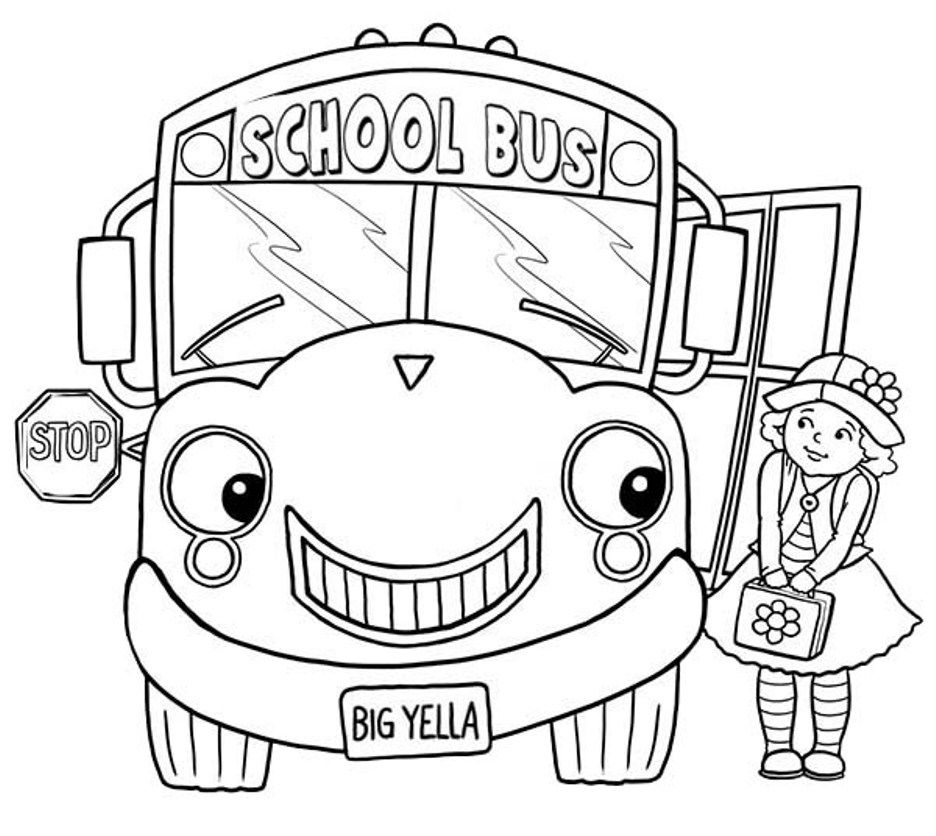 school bus pictures for kids