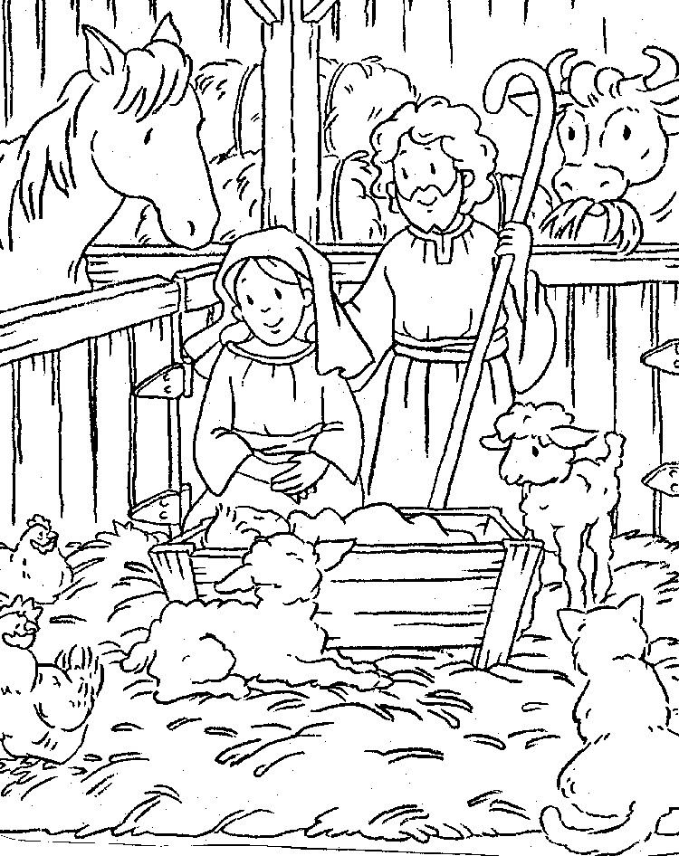 children christian coloring pages - photo#36
