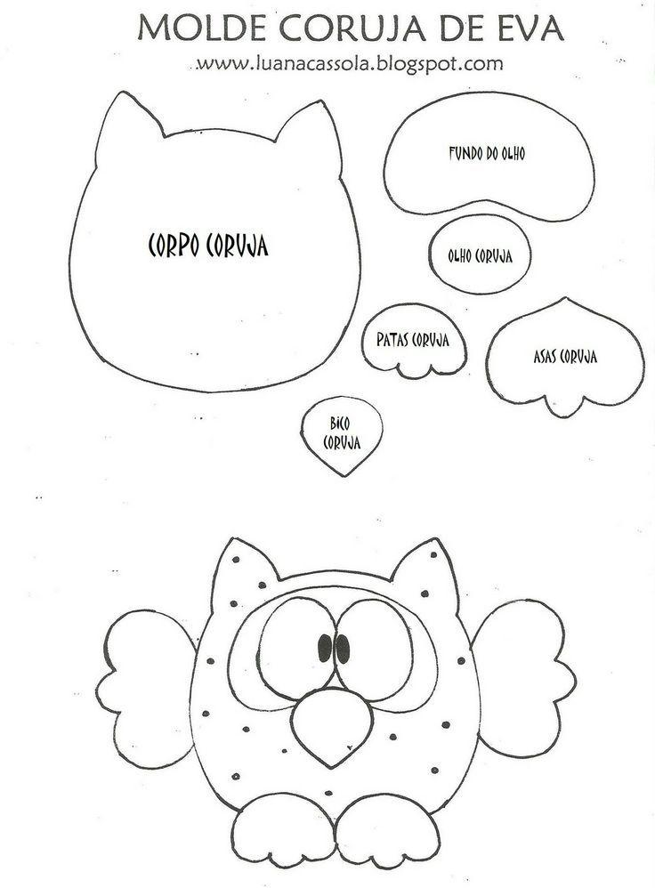 Free Owl Template Owl Template Bjl   Templates