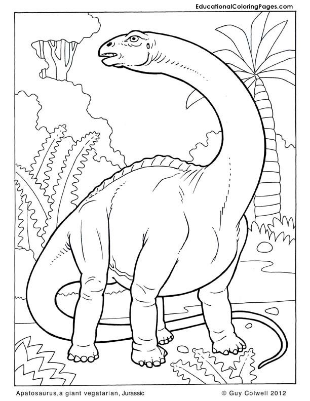 Printable Pictures Of Dinosaurs For Children