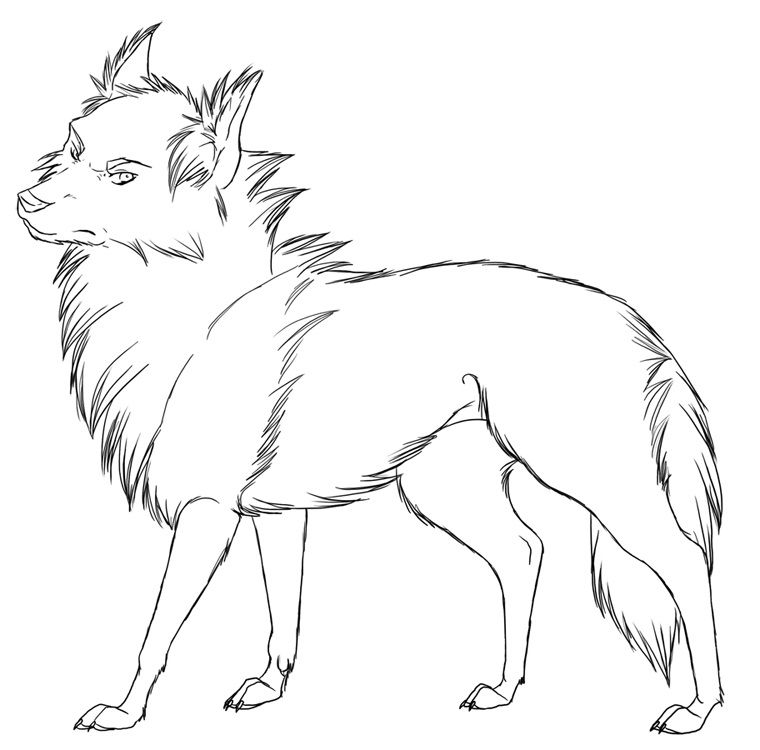 Wolf Coloring Pages Pdf : Download cool wolf coloring pages printable or print
