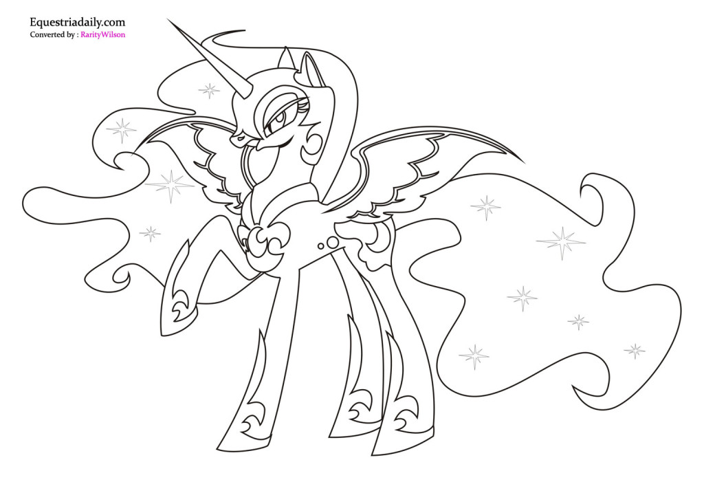 My Little Pony Friendship Is Magic Coloring Pages Pdf : My little pony friendship is magic coloring page az