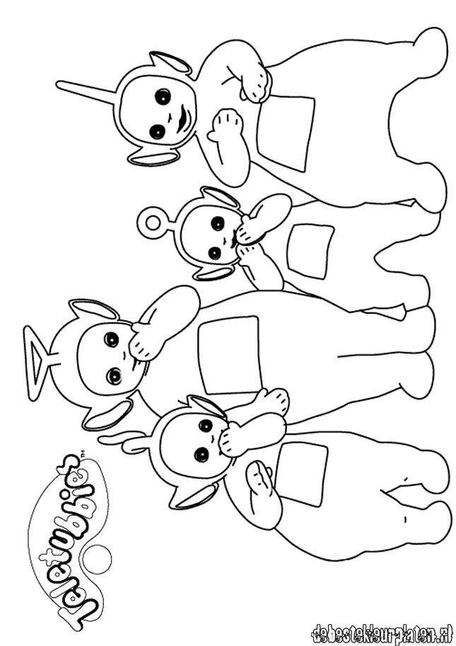 Teletubbies Printable Coloring Pages - Coloring Home
