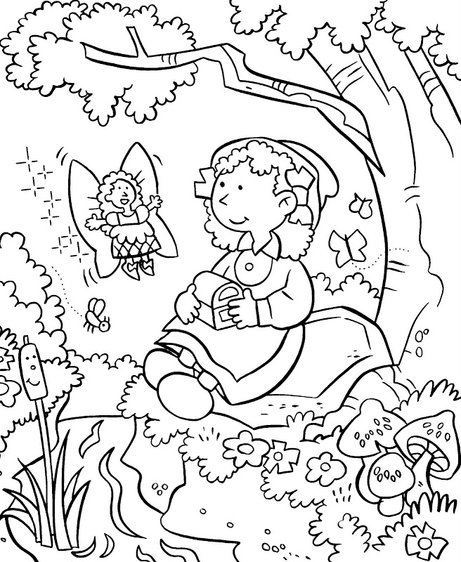 garden coloring pages games online - photo#7