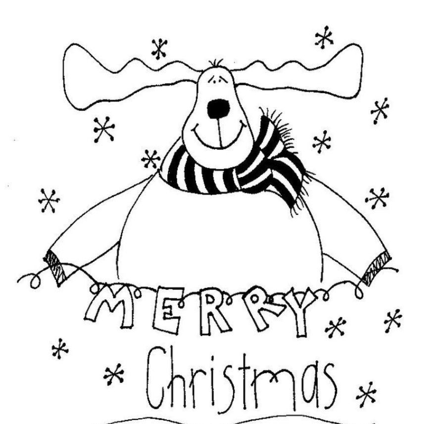 merry christmas signs coloring pages - photo#11