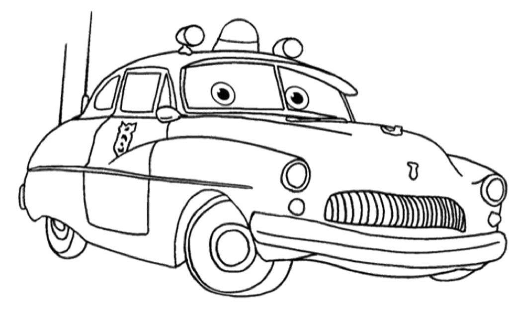 Coloring Pages Of Cars  Coloring Home