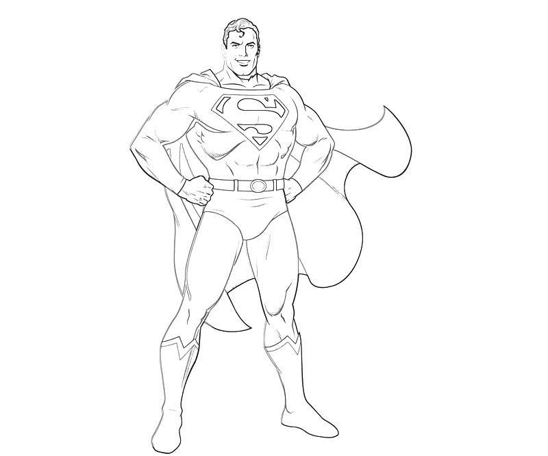 Superman Cartoon Characters - Coloring Home