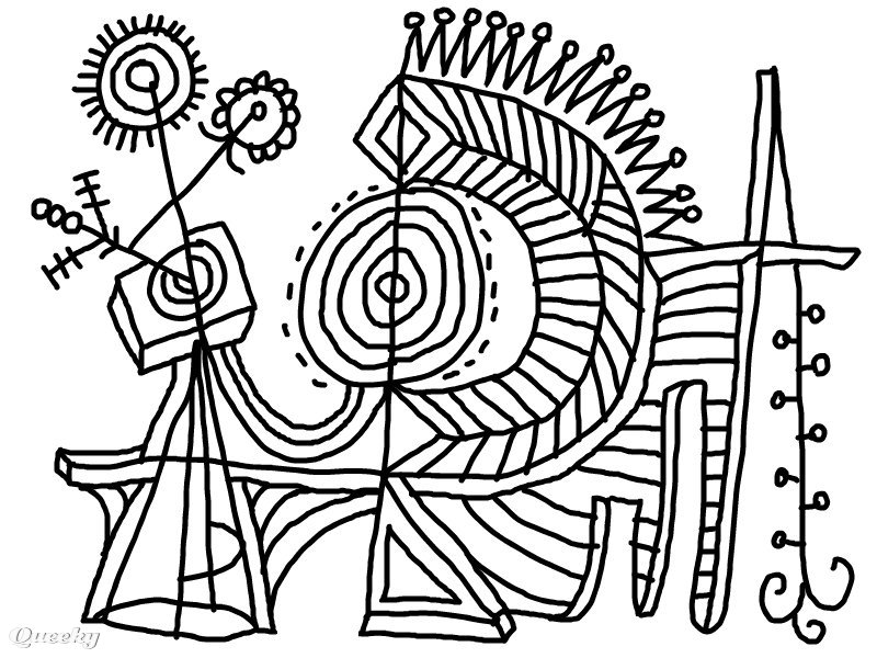 coloring pages abstract art - photo#24