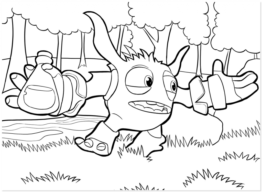 Ninjini Coloring Pages - Coloring Home