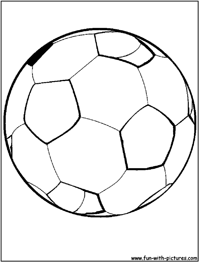 soccer coloring pages ball in fire Coloring4free - Coloring4Free.com | 840x640