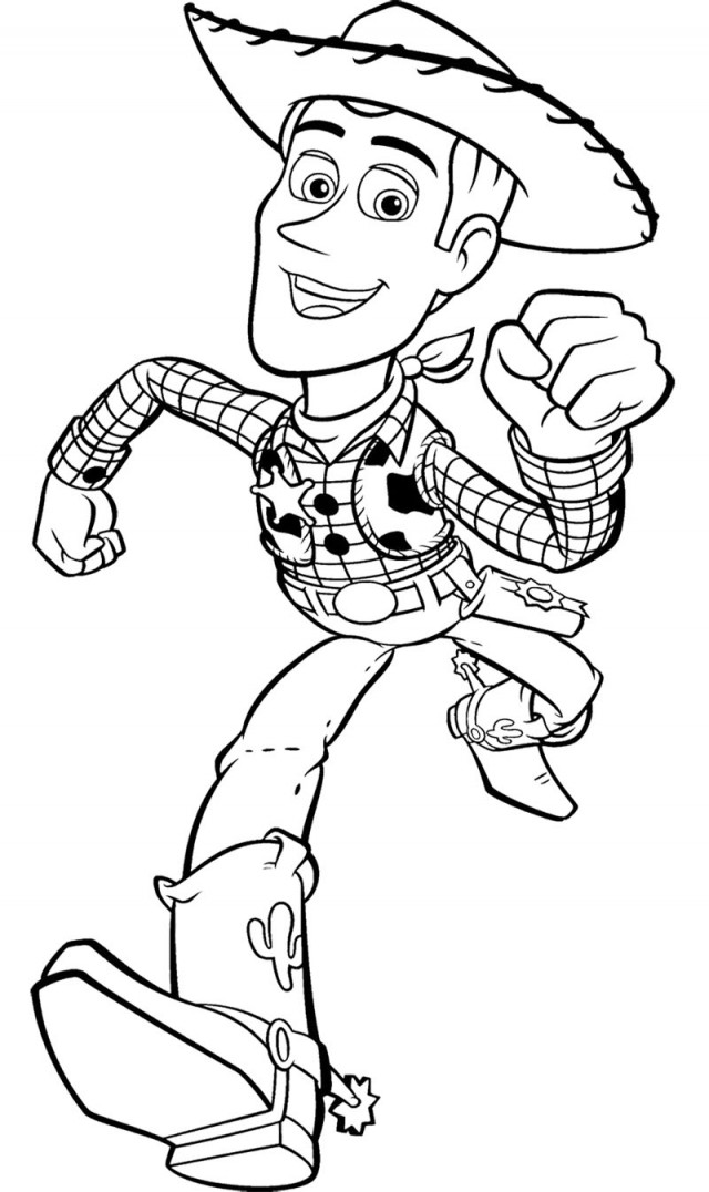 Pictures Of Toy Story Characters - AZ Coloring Pages
