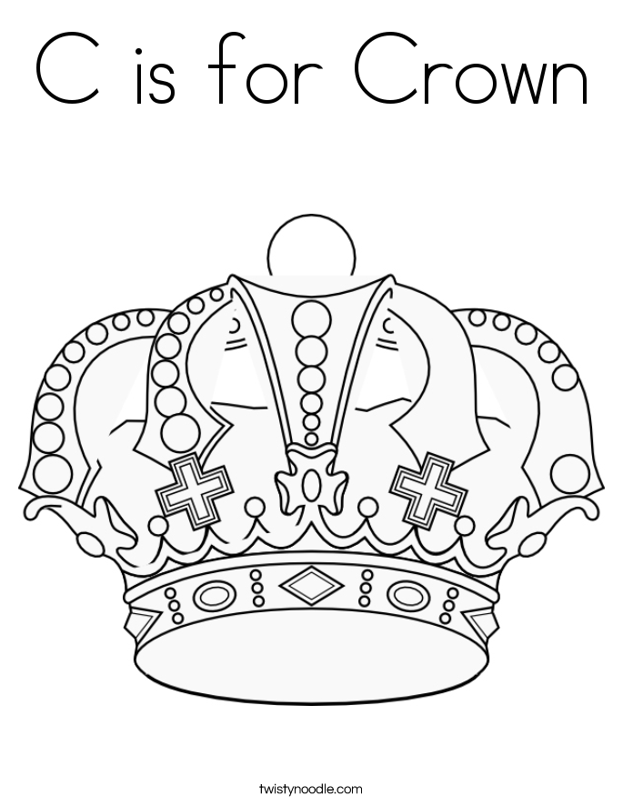King crowns coloring pages coloring home for Crowns coloring pages