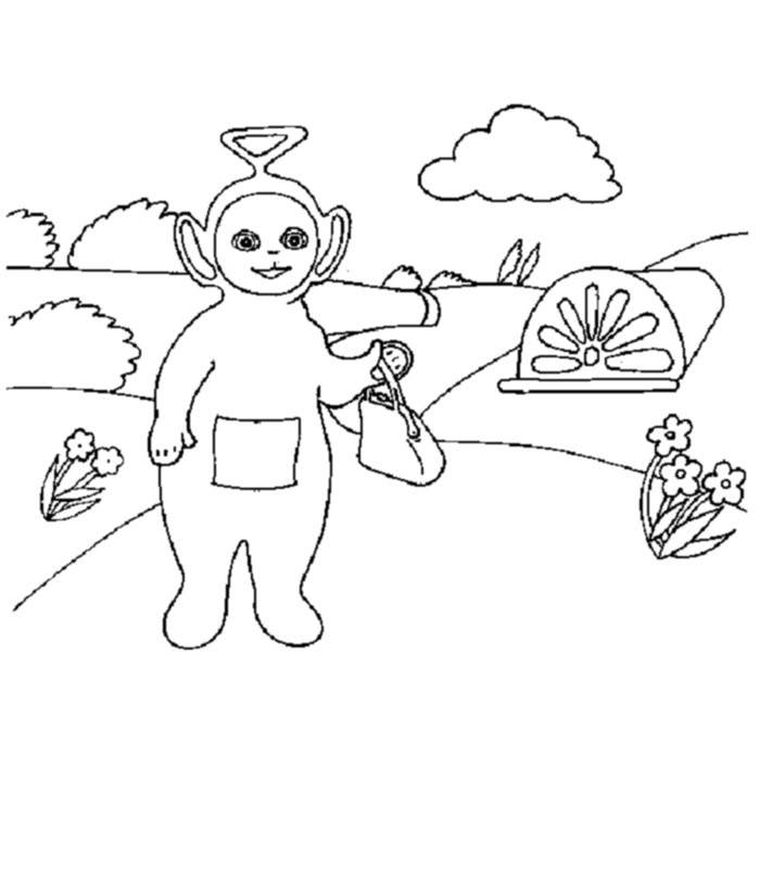 teletubbies online coloring pages - photo#31
