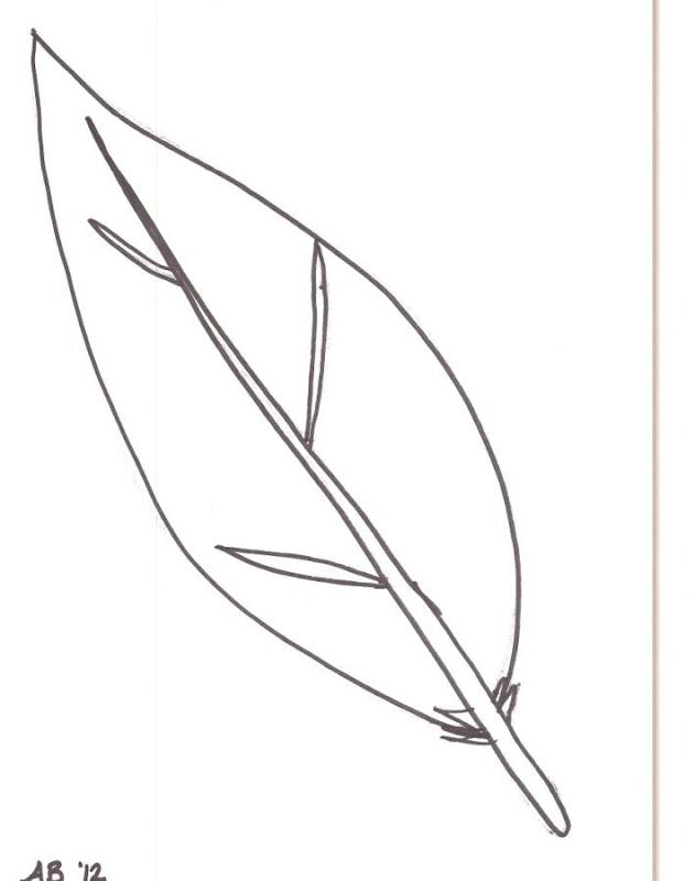 - Feathers Coloring Page - Coloring Home