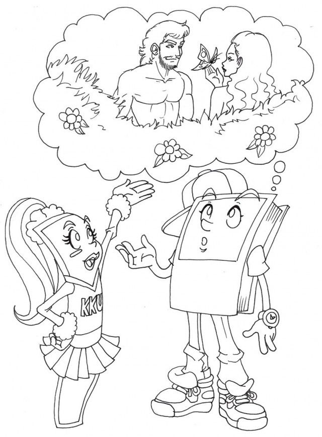 KKU Coloring Page Gallery Quot THE WORD Quot Church 38373 Creation