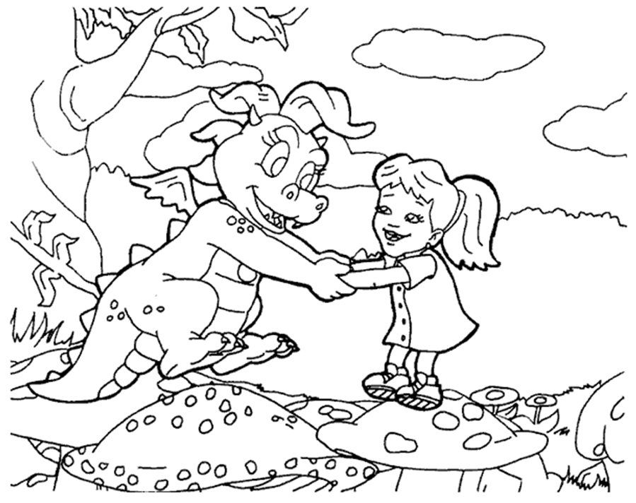 Caillou Coloring Pages - Free Coloring Pages For KidsFree Coloring
