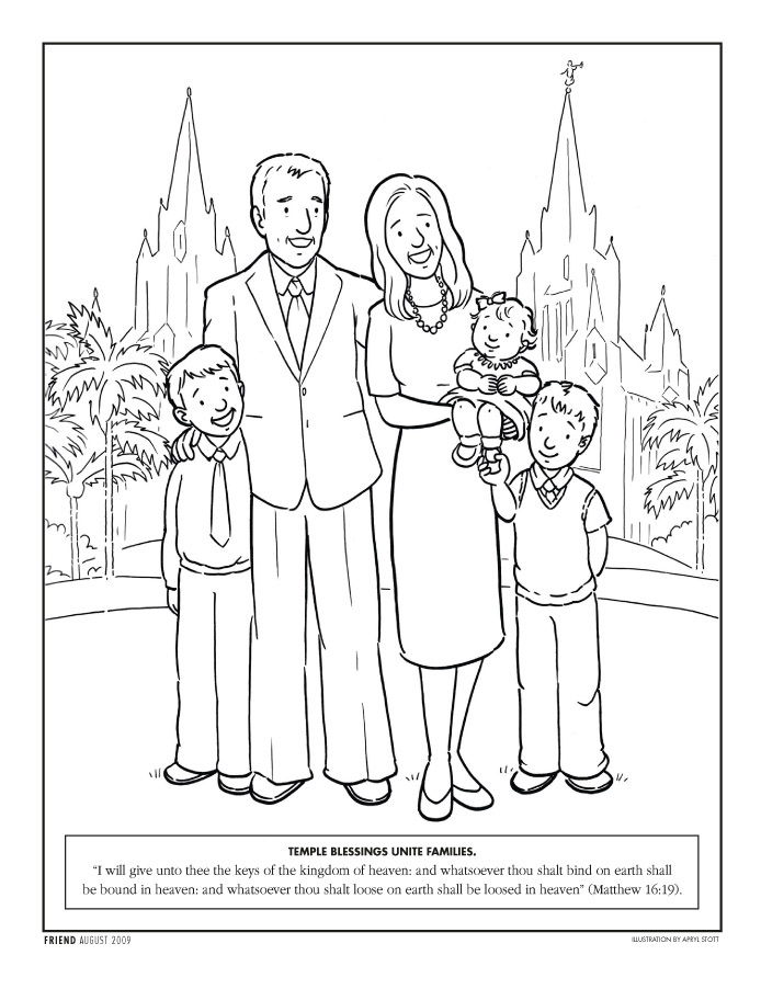 My Family Can be Together Forever ~ Nursery Manual Lesson 13