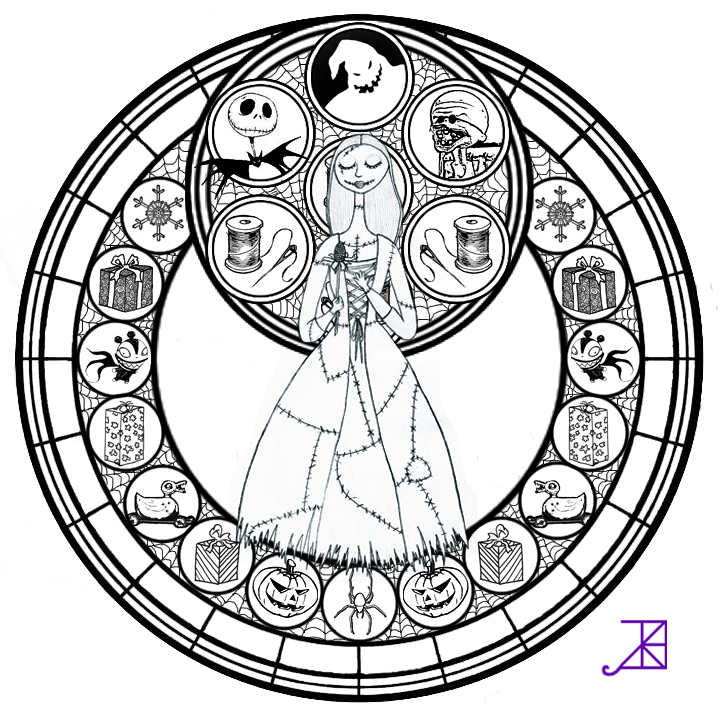 Disney Coloring Pages Glass Coloring Home Disney Nightmare Before Coloring Pages