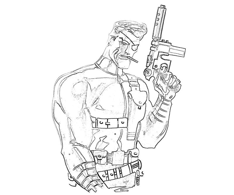 Free E Fury Coloring Pages Fury Coloring Page