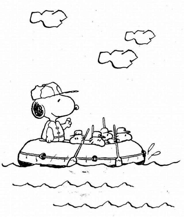 New Baby Snoopy Coloring Pages Ideas | ViolasGallery.