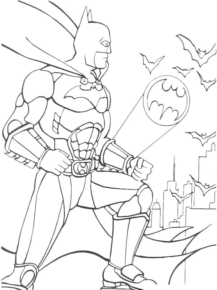 Batman Drawings For Kids