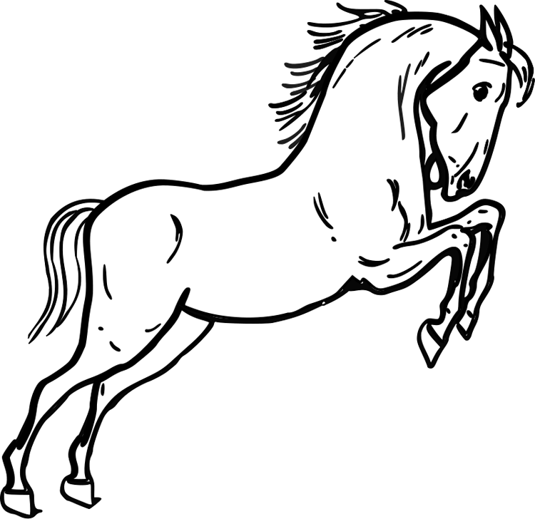 Mustang Horse Coloring Pages Homerhcoloringhome: Mustang Horse Coloring Pages At Baymontmadison.com
