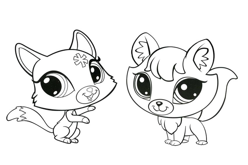 pet shop printable coloring pages - my little pet shop coloring pages az coloring pages