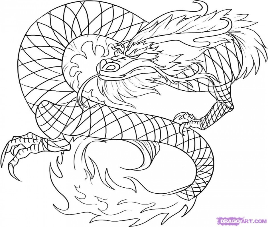 Cool dragon ball z coloring coloringwallpaper 58806 cool for Cool dragon coloring pages