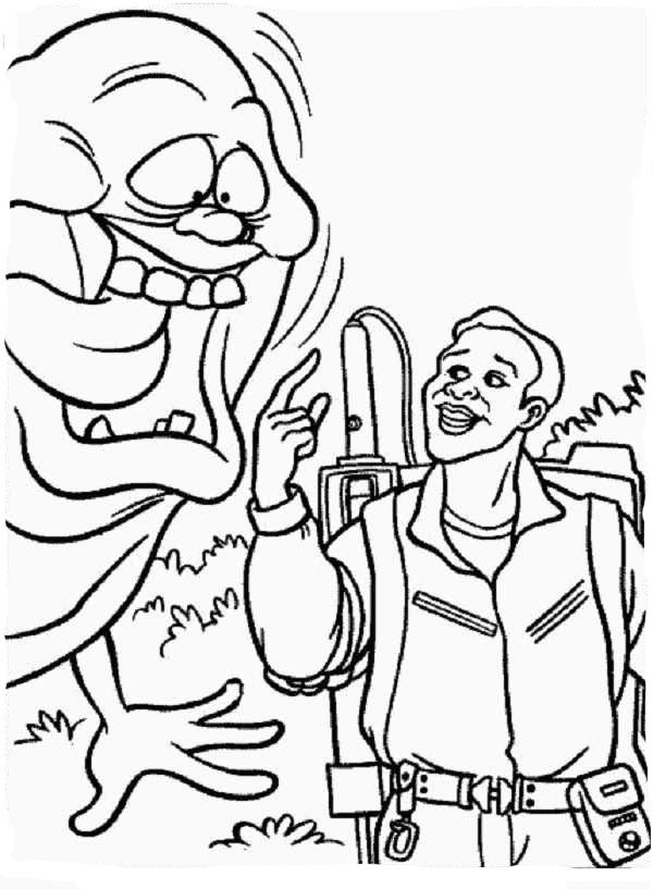 Ghostbusters Coloring Pages Coloring Home