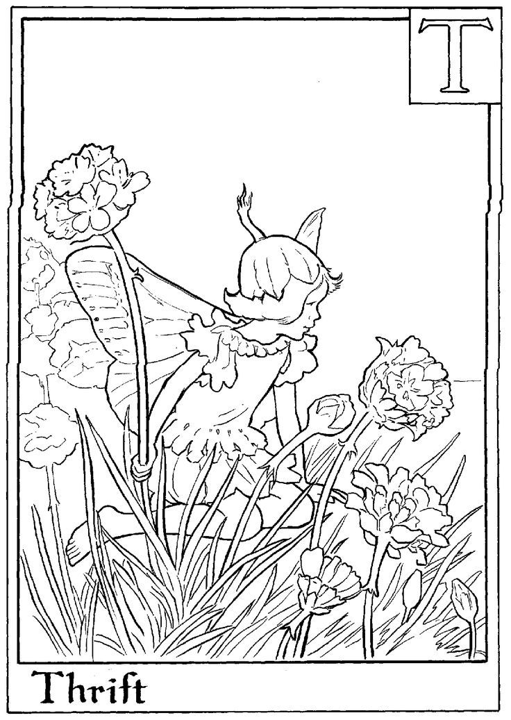1000+ ideas about Fairy Coloring Pages | Colouring ...