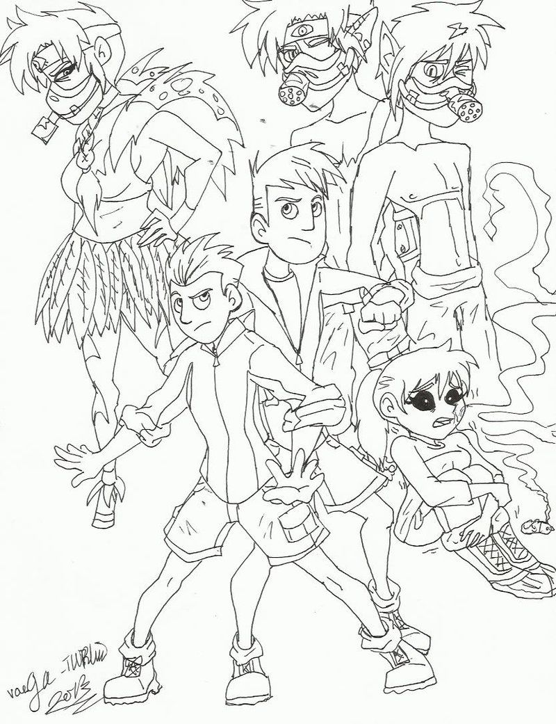 Wild Kratts Coloring Page - Free Wild Kratts Coloring Pages ... | 1041x800