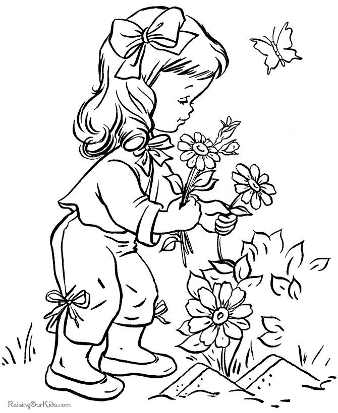 1000+ ideas about Vintage Coloring Books | Coloring ...