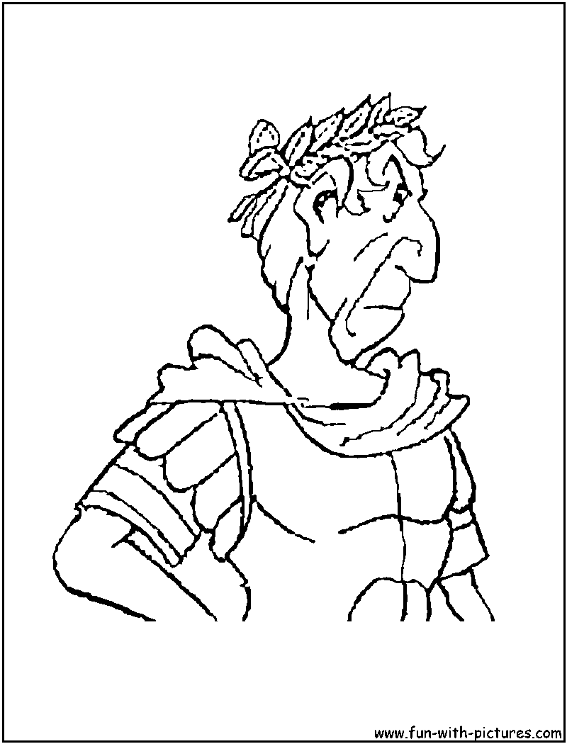 Julius Caesar Colouring Page High Quality Coloring Pages