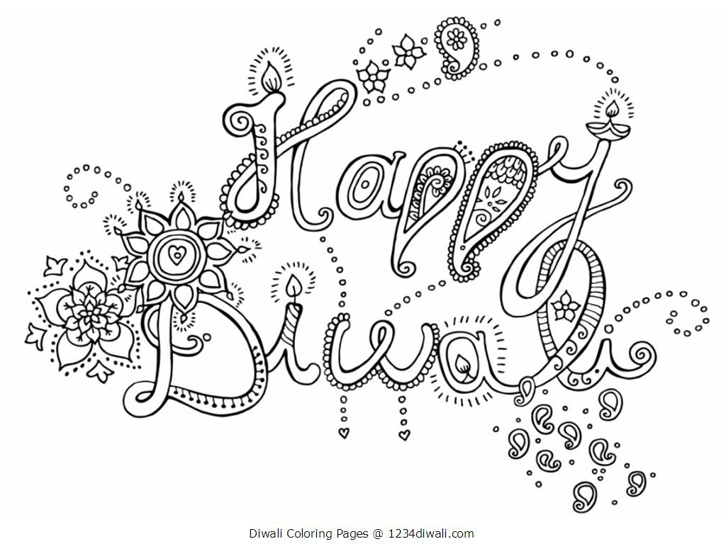 Diwali Coloring Page Az Coloring Pages Diwali Coloring Pages For