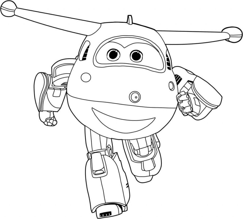 Super Wings Coloring Pages - Best Coloring Pages For Kids | Cartoon coloring  pages, Free coloring pages, Airplane coloring pages