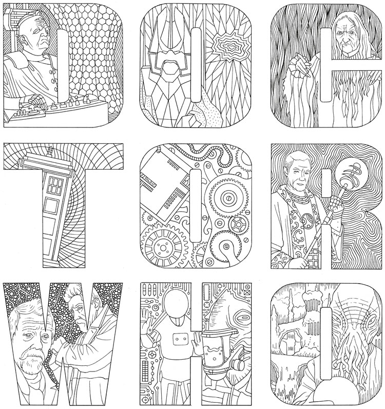 Free Doctor Who Coloring Pages - Coloring Home