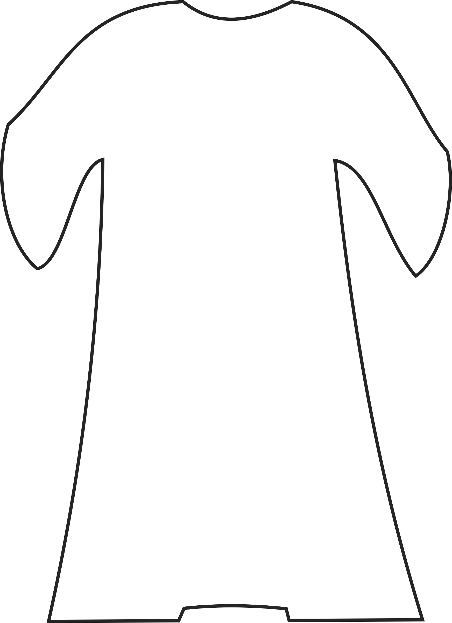 Free Robe Coloring Pages