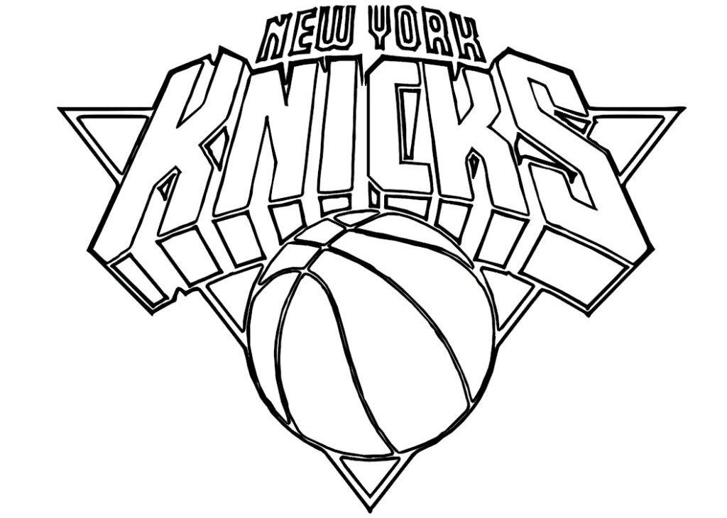 Nba Logo Coloring Pages AZ Coloring Pages