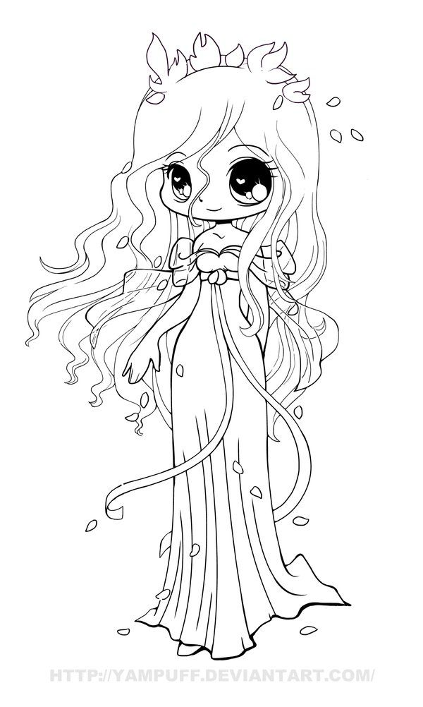 Anime Chibi Angel Coloring Pages - Coloring Pages For All ...