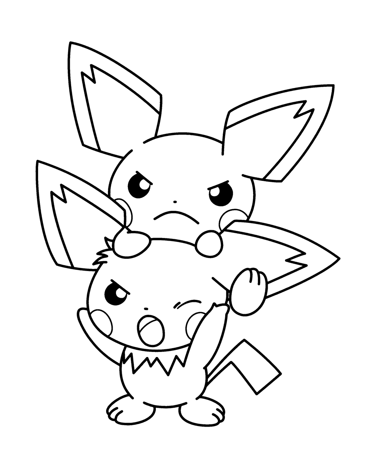 Pokemon Coloring Pages Pdf Coloring Home Colouring Pages Of