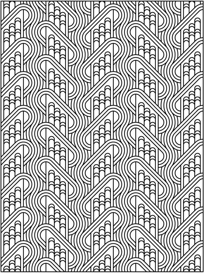 Tessellation Patterns Coloring