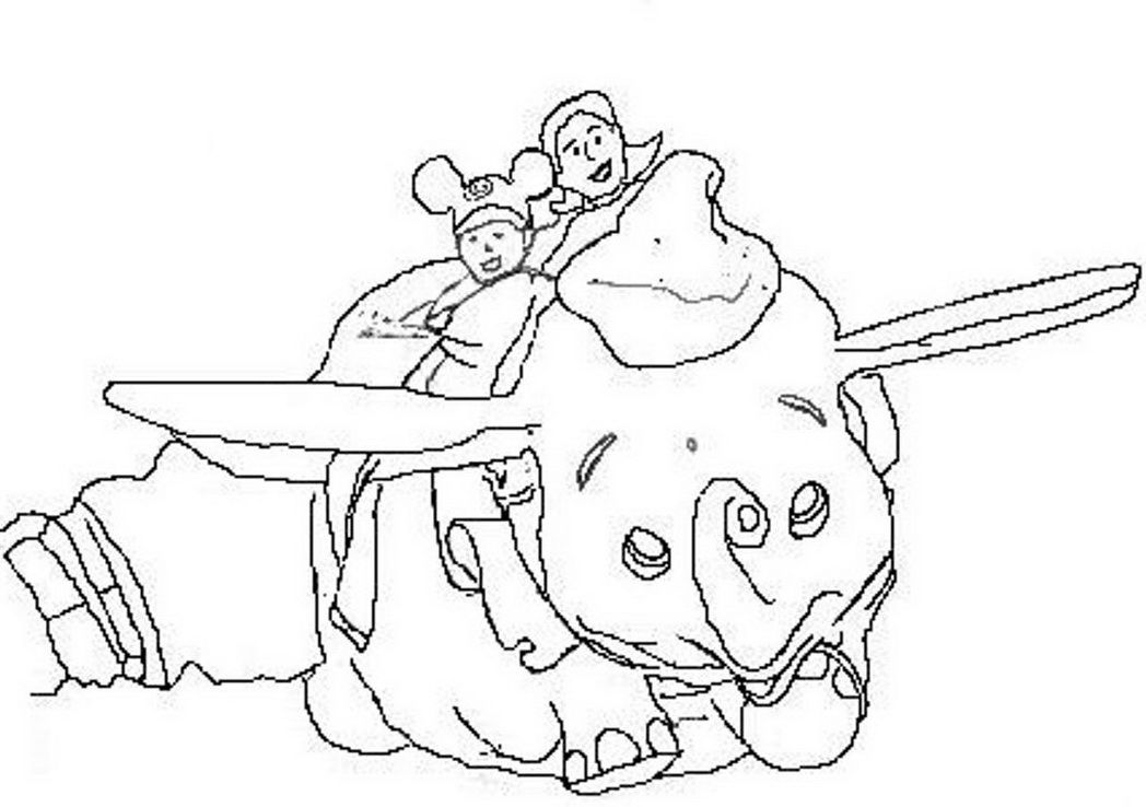 free magic kingdom coloring pages - photo#11