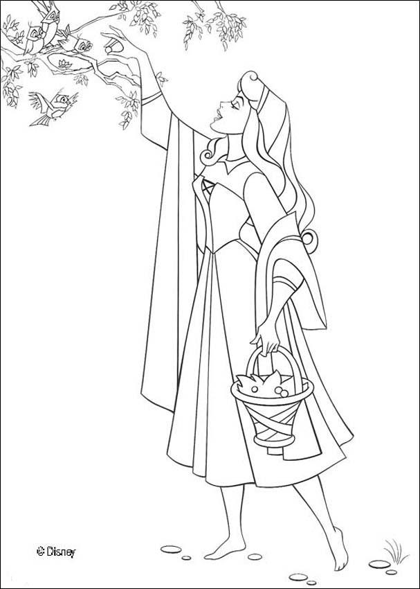 Sleeping Beauty Coloring Pages - Princess Wedding - Coloring Home
