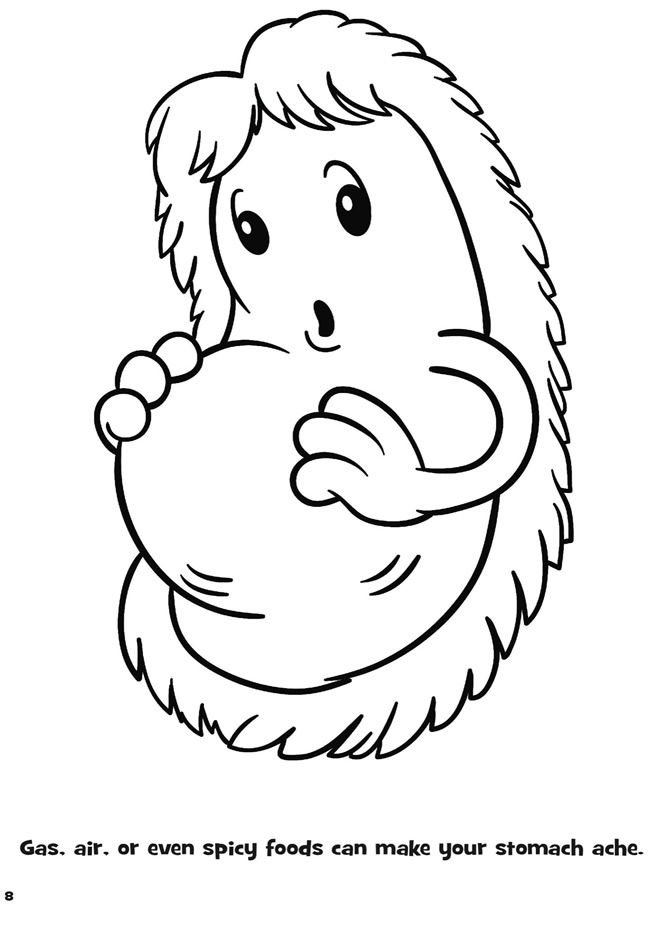germ coloring pages - photo#8