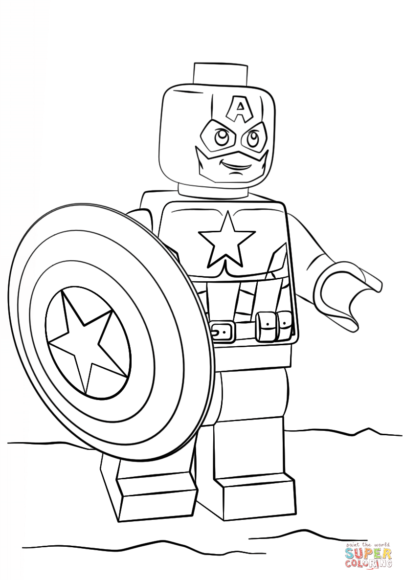 superman lego coloring pages coloring home