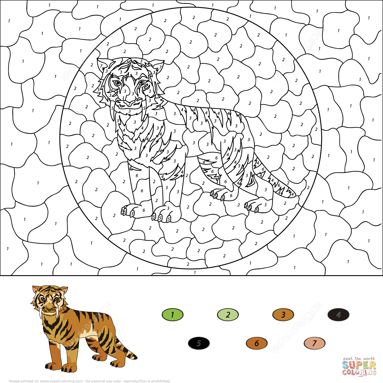 Color By Number Advanced Coloring Pages Coloring Home