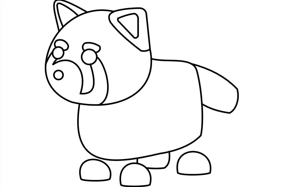 Roblox Adopt Me Coloring Pages - Coloring Home